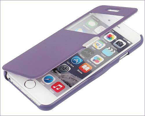 MTRONX Flip Case for iPhone 6-6s Plus