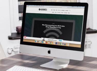 Mac Disconnecting Wi-Fi