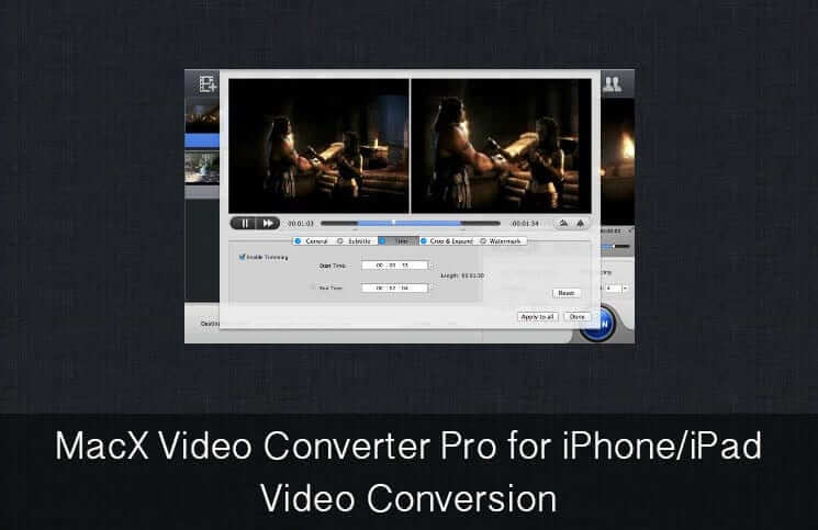 MacX Video Converter Pro for iPhone-iPad Video Conversion
