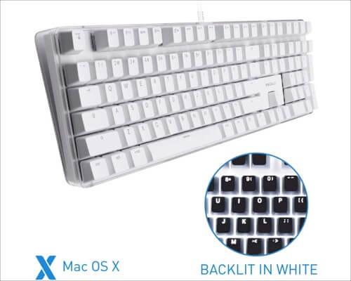 Macally Backlit Mac Mechanical Keyboard
