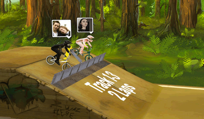 Mad Skills BMX 2 iPhone and iPad Game Screenshot