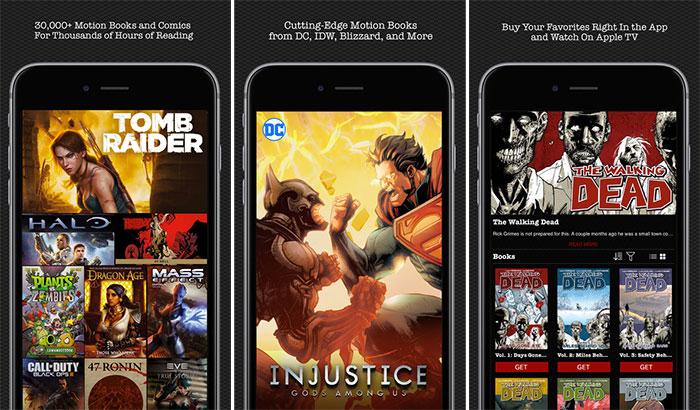 Madefire Comics iPhone and iPad App Screenshot