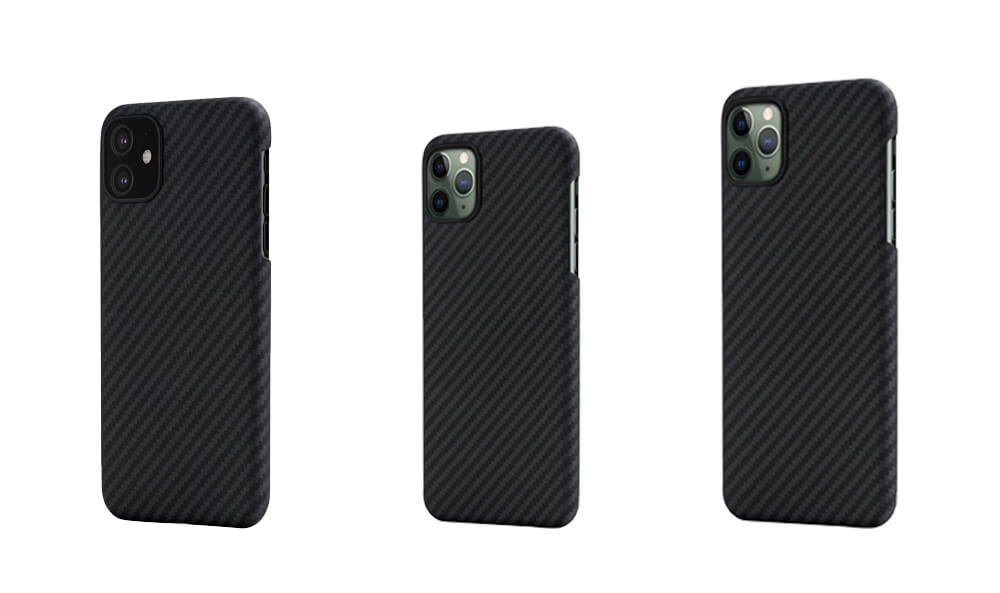 MagEZ Case Series Slim Protective Magnetic Cases for iPhone 11, 11 Pro and 11 Pro Max from PITAKA