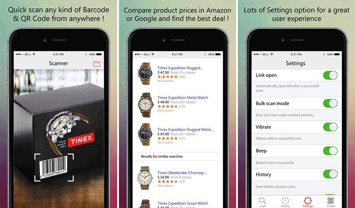 Magic Scanner Barcode and QR Code Scanner iPhone App Screenshot