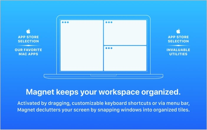 Magnet window manager app for Mac
