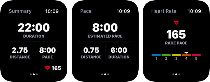 Map My Run by Under Armour Apple Watch Running App Screenshot