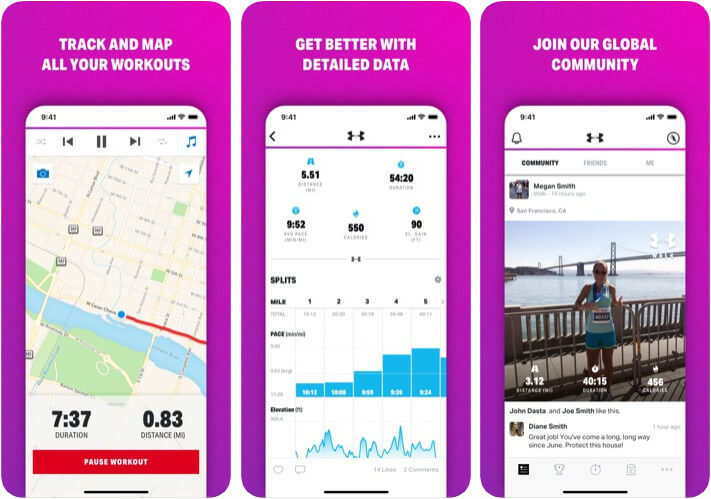 Map My Walk Distance Measuring App for iPhone and iPad