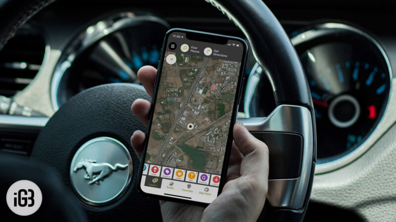 MapQuest iPhone and iPad Maps App