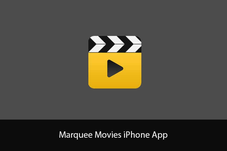 Marquee Movies iPhone App