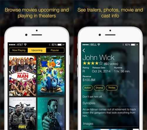 Marquee Movies iPhone and iPad App