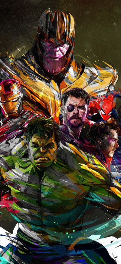 Marvel Avengers iPhone Wallpaper