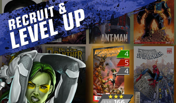 Marvel Puzzle Quest Puzzle iPhone and iPad Game Screenshot