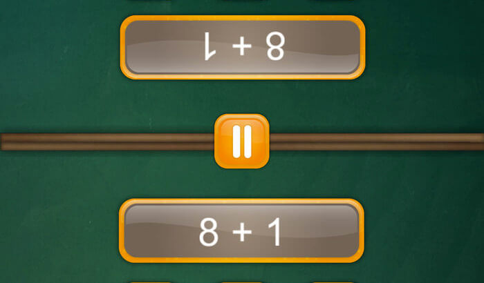 Math Fight Number iPhone and iPad Game Screenshot