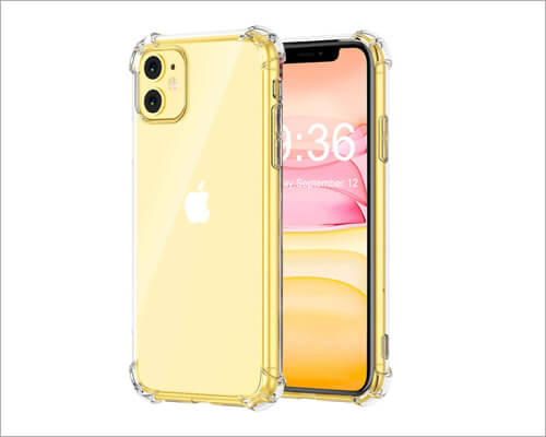 Matone Crystal Clear Slim Cheap Case for iPhone 11