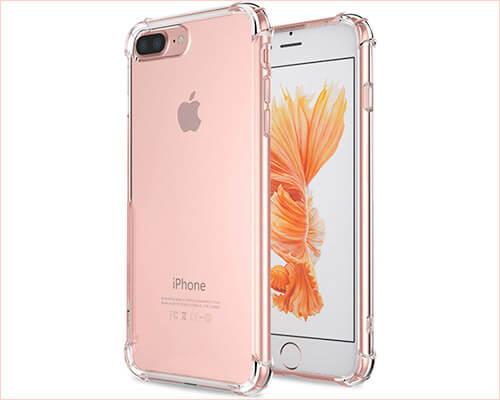 Matone Ultra Hybrid iPhone 7 Plus Clear Case