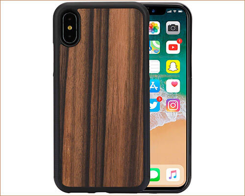 Max-king iPhone X Wooden Case
