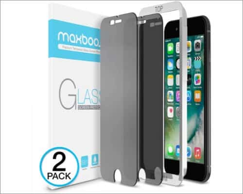 Maxboost Anti-Spy Privacy Screen Protector for iPhone SE 2020