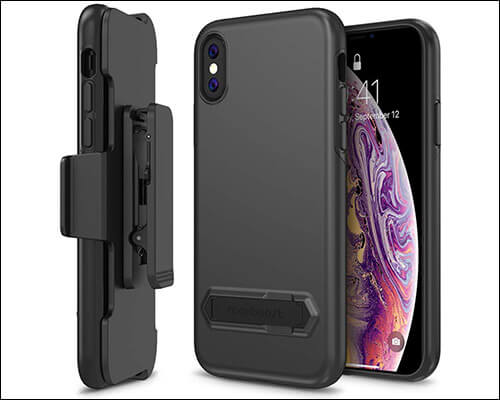 Maxboost Holster Kickstand Belt Clip Case for iPhone Xs