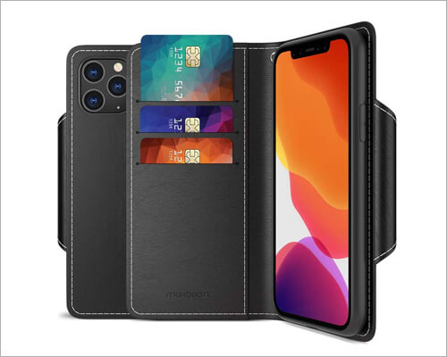 Maxboost iPhone 11 Pro mWallet Leather Cheap Case