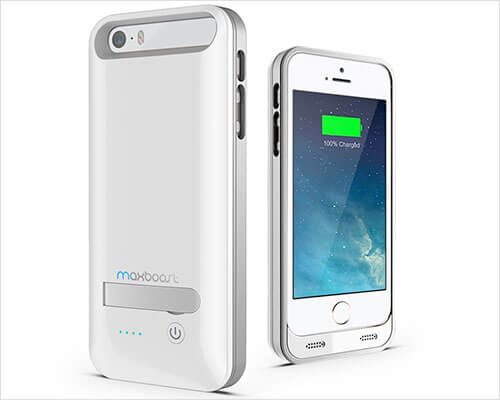 Maxboost iPhone 5s, 5, and iPhone SE Battery Case