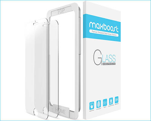 Maxboost iPhone 6-6s Glass Screen Protector