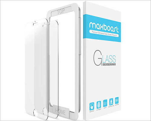 Maxboost iPhone 6 Tempered Glass Screen Protector