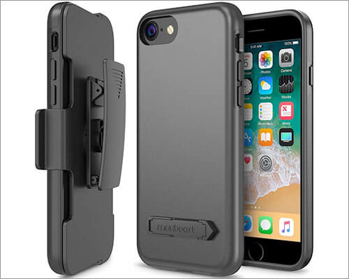 Maxboost iPhone 7 Belt Clip Holster Case