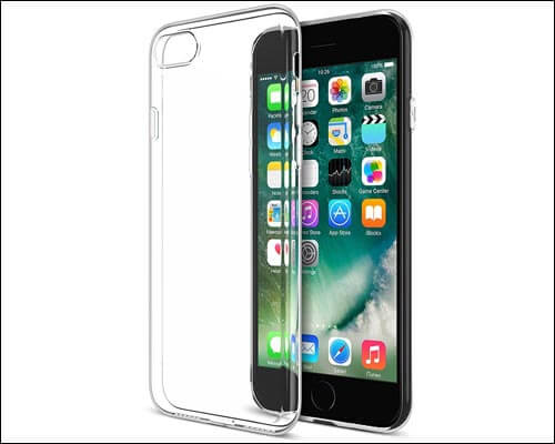 Maxboost iPhone 7 Plus Transparent Clear Case
