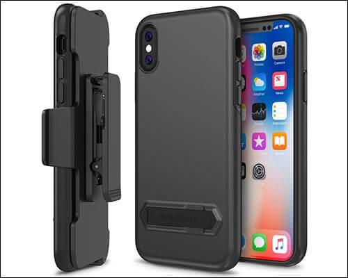 Maxboost iPhone X Belt Clip Case