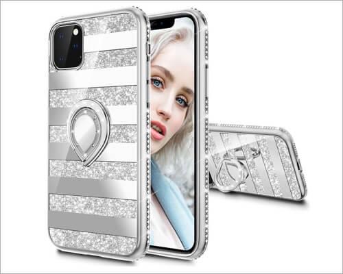 Maxdara iPhone 11 Pro Max Ring Holder Case