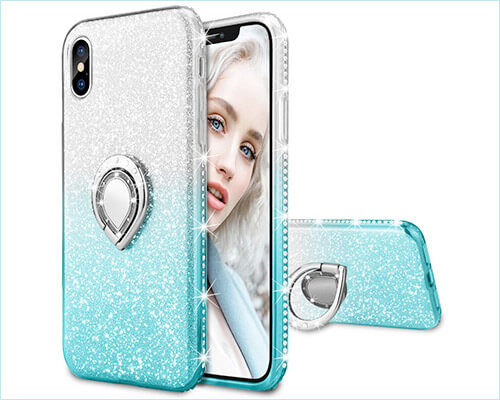 Maxdara iPhone X-Xs Ring Holder Case