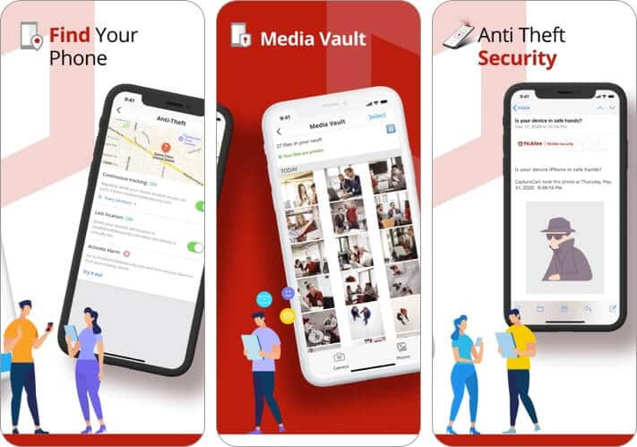 McAfee Mobile Security app for iPhone and iPad