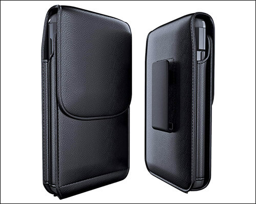 Meilib iPhone Xs Leather Holster Case