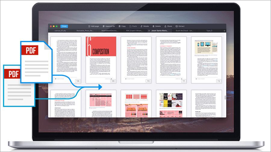 Merge PDFs on Mac