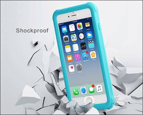 Meritcase iPhone 6s Plus Waterproof Case