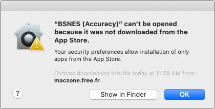 Message Pops Us When Open App from Unidentified Developers on Mac