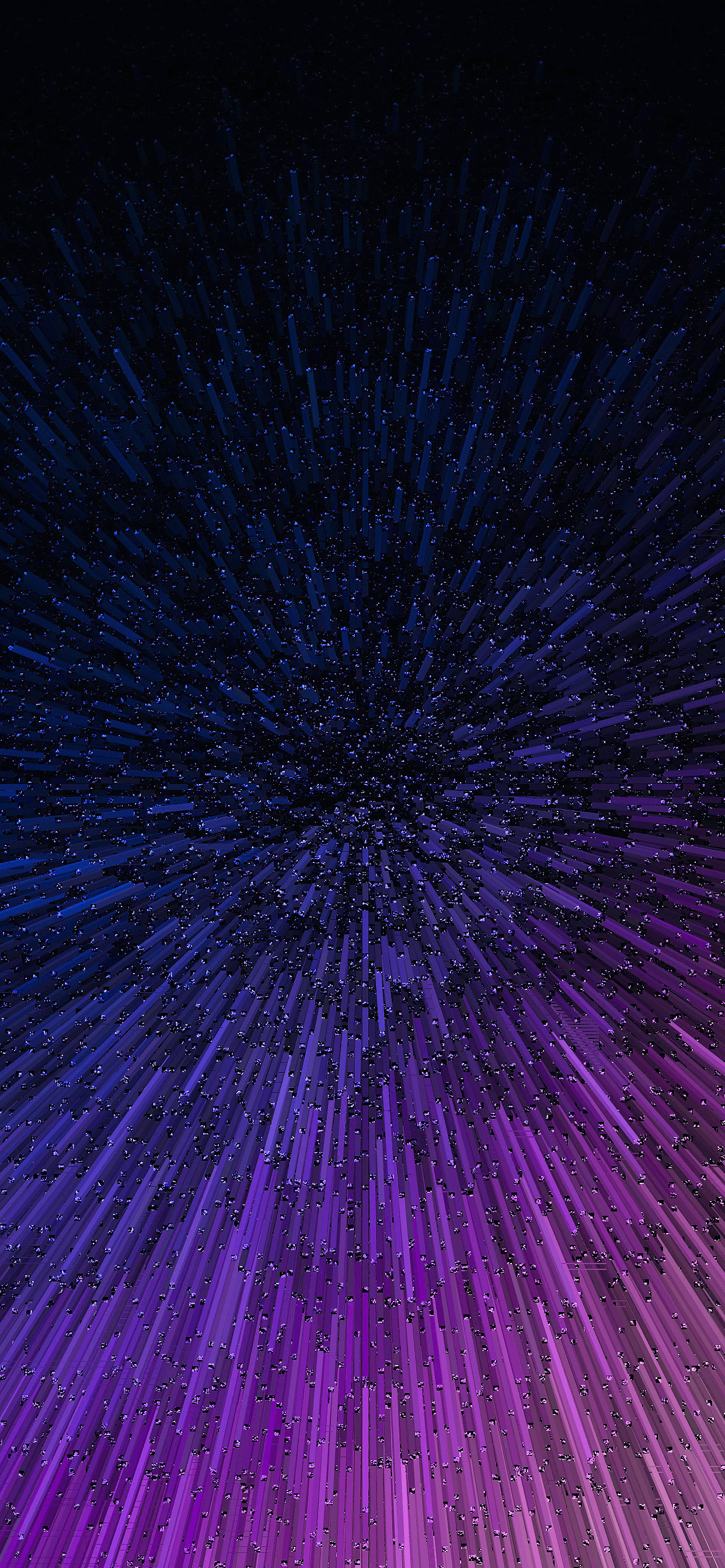 Meteorite Explosion for for iPhone XS MAX Wallpaper
