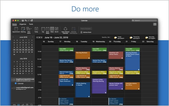 Microsoft Outlook beste Kalender-App für Mac