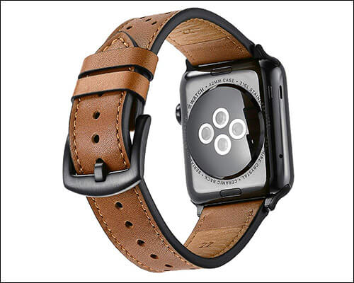 Mifa Apple Watch Series 4 Vintage Leather Band