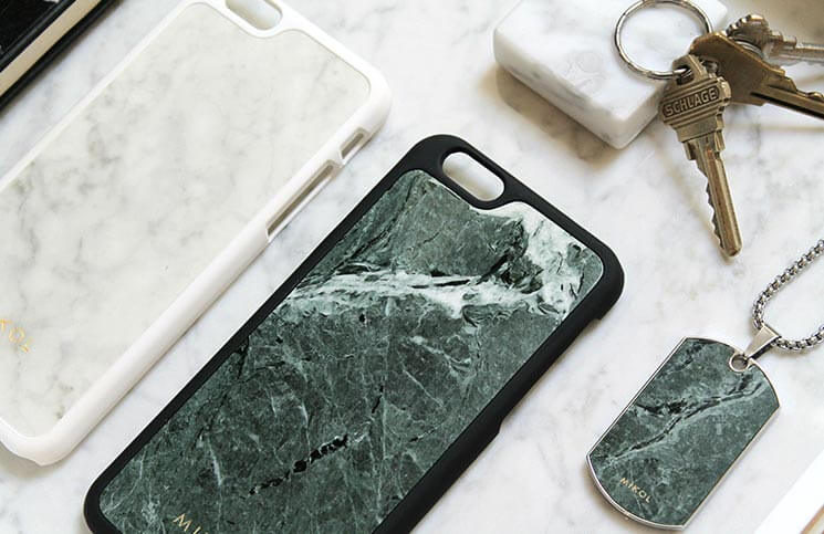 Mikol iPhone 7-7 Plus Marble Case