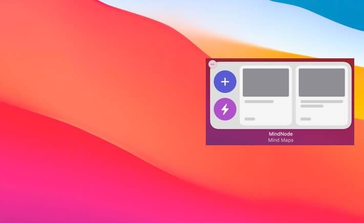 MindNode Widget for macOS