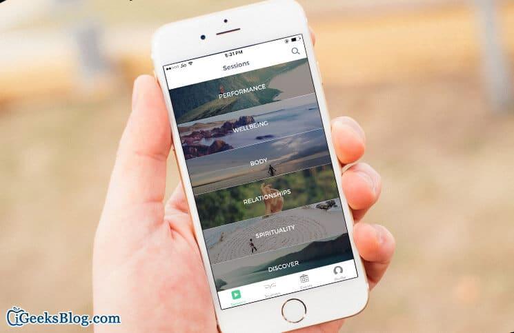 Mindbliss Meditations iPhone and iPad App