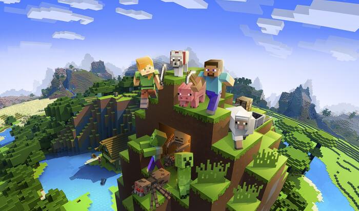 Minecraft Online Game for Mac