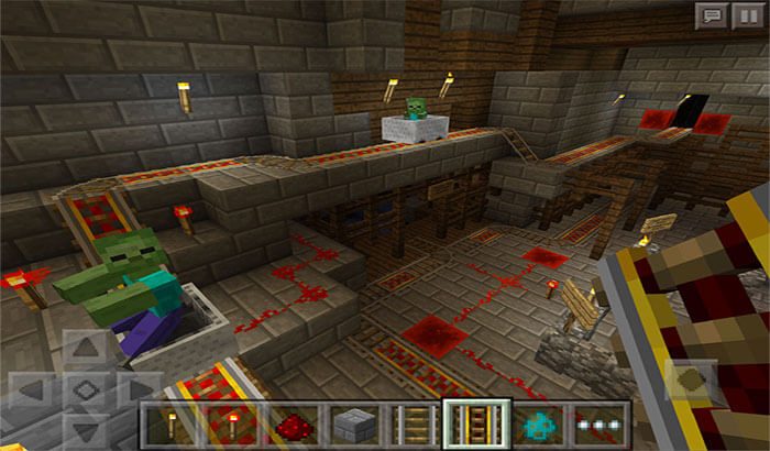 Minecraft iPhone and iPad Game Screenshot