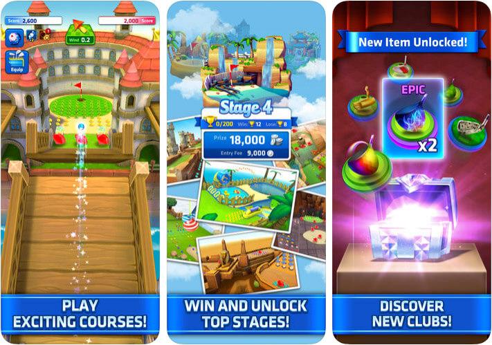 Mini Golf King Multiplayer iPhone and iPad Game Screenshot