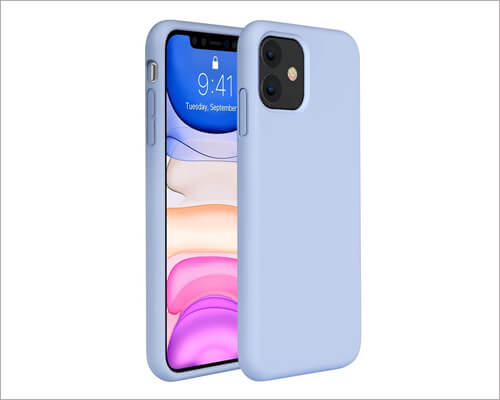 Miracase Shockproof Silicone Case for iPhone 11