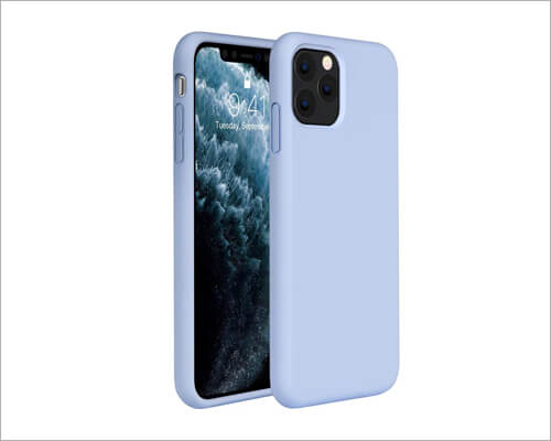 Miracase iPhone 11 Pro Rubber Silicone Case