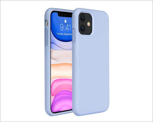 Miracase iPhone 11 Wireless Charging Rubber Case