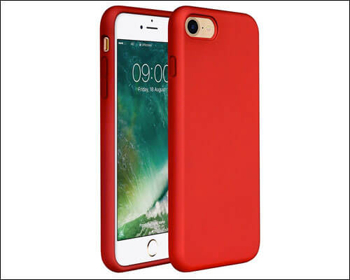 Miracase iPhone 8 Red Case