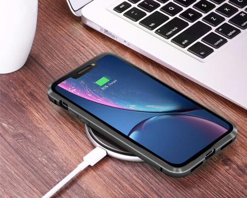 Misscase iPhone XR Magnetic Adsorption Case